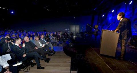Folkemøte: Først fire dager før valget arrangerer Litteraturhuset (bildet) sitt store folkemøte i samarbeid med NRK.arkivfoto: Erik hagen