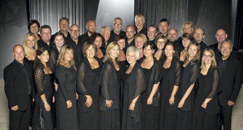 ALENE: Koret Collegium Vocale skal vise fram hele sin bredde under konserten  «Toner i julenatt» i Vang kirke. Pressefoto
