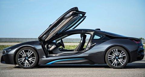 BMWs hybride sportsbil i8.
