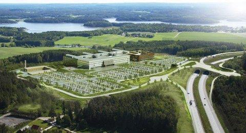 Politikerne i Strømstad drømmer om et grenseløst sykehussamarbeid.