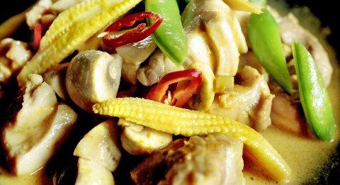 En deilig curry lager du raskt etter jobb, du må bare innom grønnsaksbutikken først.