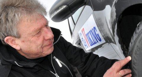 Continentals Frank Larsen har levd med Viking-dekkenes utvikling i over 40 år.