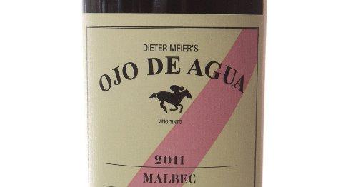 Ojo de Agua Malbec 2011. Argentina (Mendoza). Nr. 9621501. Kr 143,90.