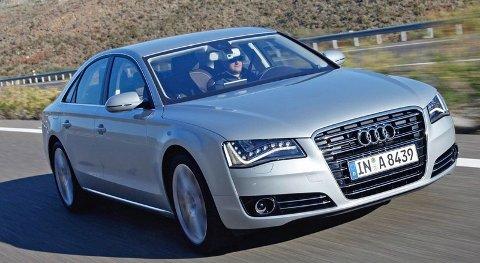 INNOVATIV: Audis nye A8 er akkurat nå den mest innovative volumbilen du kan kjøpe over disk i Norge.