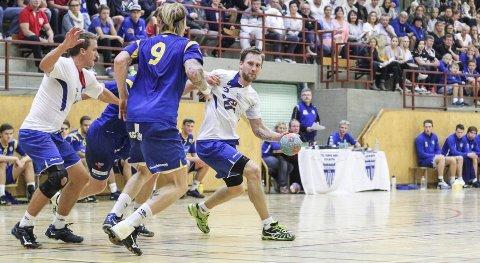 Espen Hanssen har vært en sentral brikke for Kolbotn, men nå har 34-åringen valgt å legge opp. Her i aksjon mot Bodø i NM-kampen tidligere denne måneden.