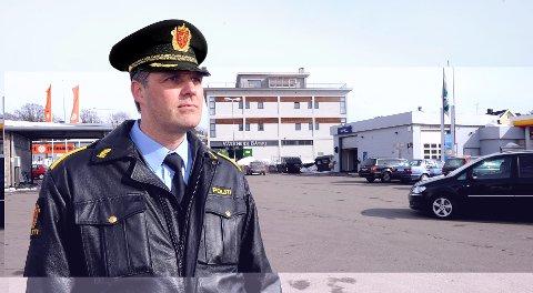 Krimsjef Lars Reiersen snakker om 17.mai-innbruddene og tigging i denne ukens politiradio.