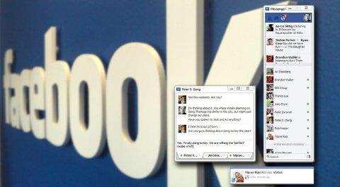 Facebook lanserer en egen chatte-klient til Windows kalt Facebook Messenger.