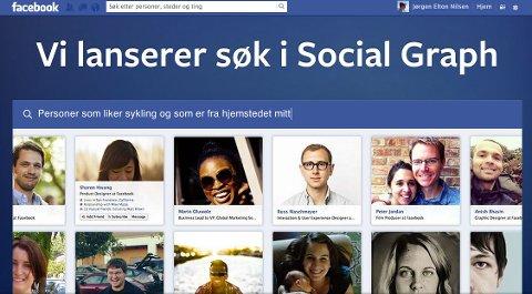 Med den nye søkemotoren tar Facebook opp kampen mot nettets store gigant Google.