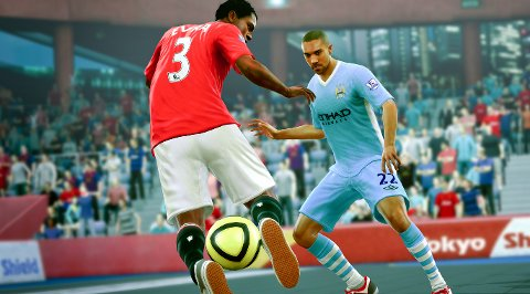 FIFA Street tar med seg fotballen tilbake til lekeplassen.