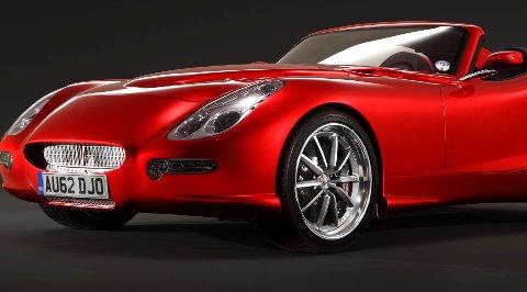 Trident Iceni dieselsportsbil.