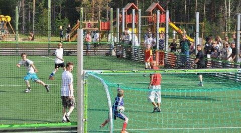Fotballturnering: Bli med på fotballturneringen på Furutangen fredag og lørdag. Her blir det plass for alle.