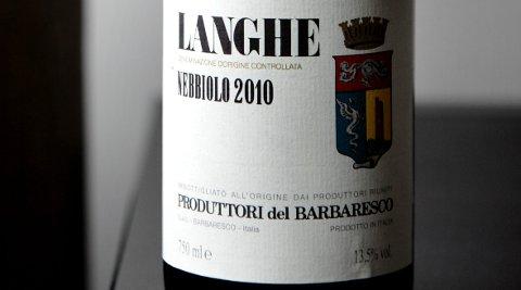 Langhe Nebbiolo, Produttori del Barbaresco 2010 (best. nr. 4520801, kr 179,90, basisutvalg)
