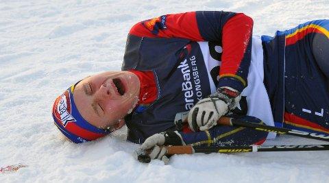 Beverns Aurora Moholth ga absolutt alt for en knallsterk andreplass i 14-årsklassen i Skrimrennet.