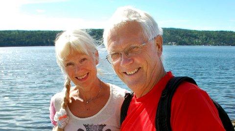 Birger og Anita Løvland tar oss med på turer langs Follo-kysten i sommer.