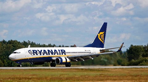 Ole-Morten Ruud var en av passasjerene på flyturen fra Malaga til Torp, som tok en uventet mellomlanding på Rygge flyplass.