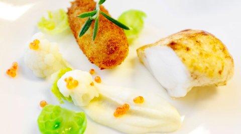 Alle liker fisk når måltidet består av stekt breiflabb og potetkroketter.