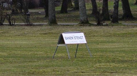 VINTER: Ingen aktivitet. Med ny kunstisbane blir det ganske annerledes, hevder Skatvedt og Langeland.FOTO: GURI LARSEN
