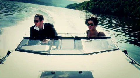 Båtjakt på Heddalsvannet