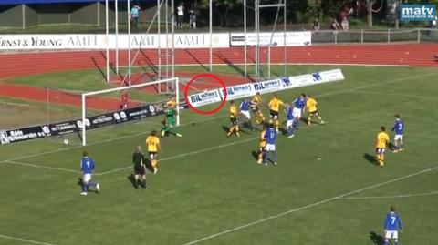 MFK-spillerne fikk seg en skikkelig kalddusj like før kampslutt, da Kjelsås headet inn 2-3.