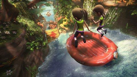 Kinect Adventures er lettbent underholdning på sitt beste.