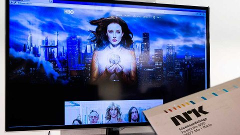 Denne TV-en har fått sitt siste lisenskrav, men viser serier som bare det.