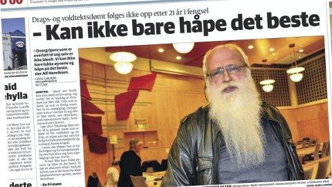 FAKSIMILE: Gjengangeren torsdag 22. mai 2014.