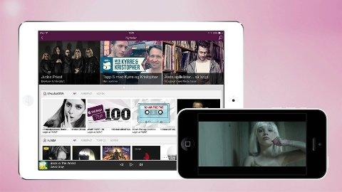 WiMP har lansert en helt ny versjon av sin app til iPhone og iPad.