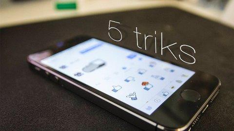 Facebook Messenger-appen har en rekke finurlige triks du kanskje ikke visste om.