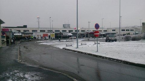 Flyplassen er stengt.