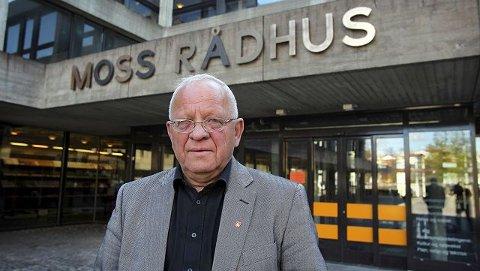 - Jeg liker ikke samkommunemodell en, sier ordfører PaulErik Krogsvold. Han vil heller ha kommunesammenslåing. Foto Geir Hansen