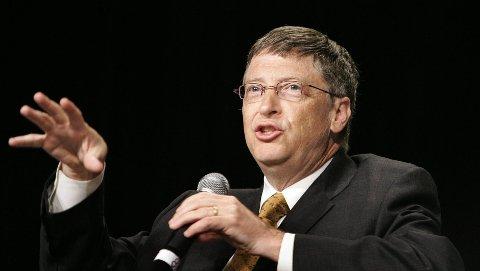Kjendisforedrag: En internasjonal kunnskaps- og vitenskapsfestival må ha toppnavn som f.eks. Bill Gates.