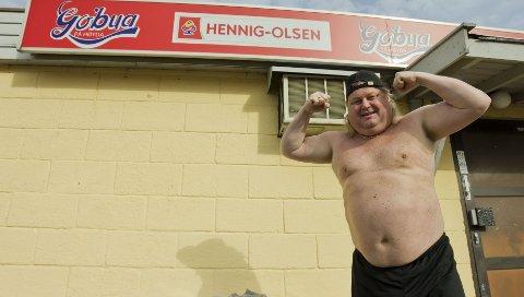 Torgeir Hansen er ikke helt klar for badesesongen, men med sin selvkomponerte diett mener han at sommeren skal reddes.