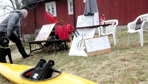 Tunet: Tunet på Østre Greverud gård hadde også sine tilskudd i tillegg til turløypa ute i skogen.