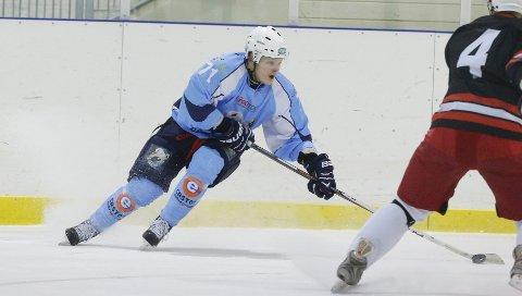 Haugesund 080214Haugesund seagull mot Skedsmo ishockeyklubb.Antti M��kel��