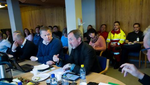 Styret i Sykehuset Østfold, møte angående AMK-beliggenheten.