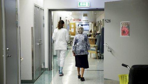 Endrer seg: Sykepleiere på Haugalandet har tradisjonelt ikke hatt samme lønnsutvikling som kollegaene lengre sør i fylket.  arkivfoto: grethe nygaard