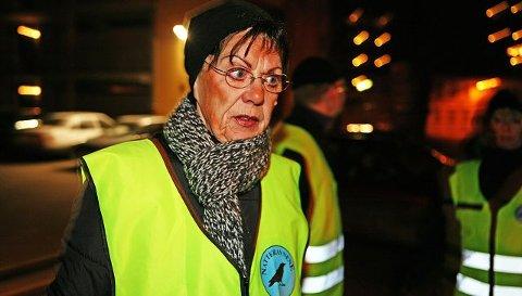 Anne Askersrud, leder i Natteravnene Moss, er lite fornøyd med at Moss kommune forlanger innsyn i hvordan en stor pengegave er forvaltet. foto linda edvardsen