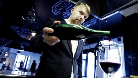 Robert Lie er daglig leder ved restauranten Grefsenkollen.
