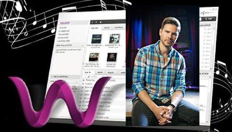 Kjartan Slette (34) fra Fredrikstad har ambisjoner om å danke ut både Spotify of iTunes.