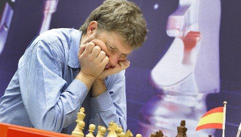 STJERNE: Latviske Alexei Shirov deltar i helgens turnering på Hotel City. (Foto: Scanpix)