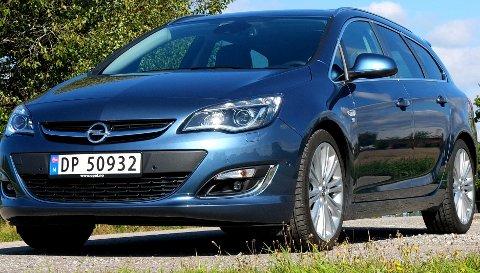 Med OPC-pakke er Opel Astra sportslig. Dessverre er det ikke mye sport i motoren.