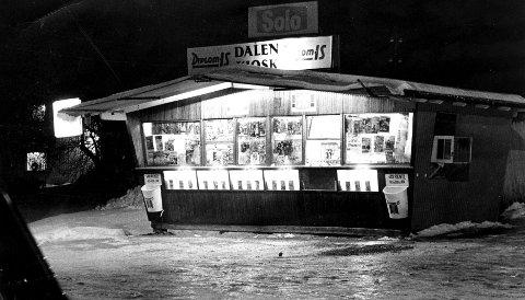 Dalen kiosk i gode, gamle dager.