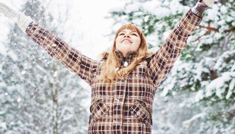 Snø kan være utgangspunktet for mye moro.