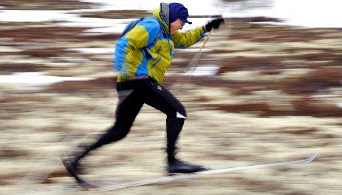 Noen foretrekker ski, nesten uansett føreforhold.