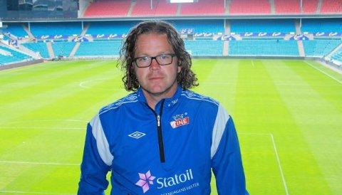 Aksel Bergo ble i dag presentert som assistenttrener på U21-landslaget under ledelse av Leif Gunnar Smerud.