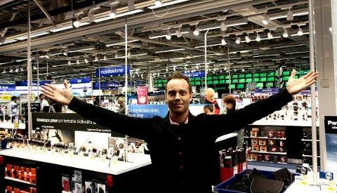 Anders Nilsen går fra Elkjøp til Expert.