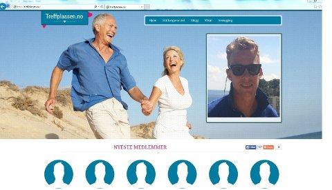 Jon Petter Andersen (innfelt) fra Rolvsøy har som mål å ha 5.000 medlemmer for nettjenesten sin til neste år.