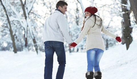 En tur i et vinterkledd landskap kan være som terapi.