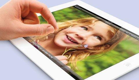Fjerde generasjon iPad har imponerende skarphet.