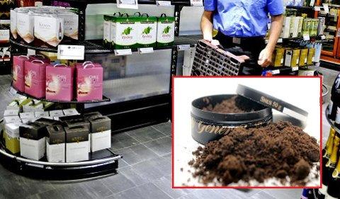 Et utvalg foreslår å forby snus og pappvin.